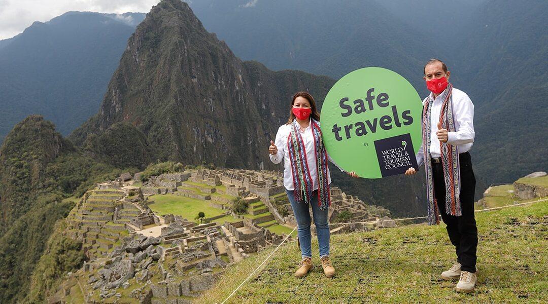 """Perú obtiene el sello """"Safe Travels"""" de la WTTC, como destino de viaje seguro"""