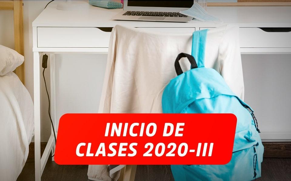 COMUNICADO N° 5 – INICIO CICLO 2020-III