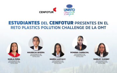 Estudiantes del CENFOTUR fueron seleccionados en la Liga de Estudiantes de la OMT