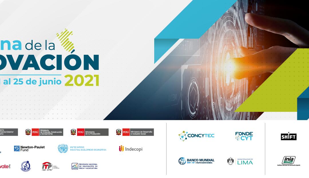 CENFOTUR participará por segundo año como coorganizador en la Semana de la Innovación 2021 del CONCYTEC