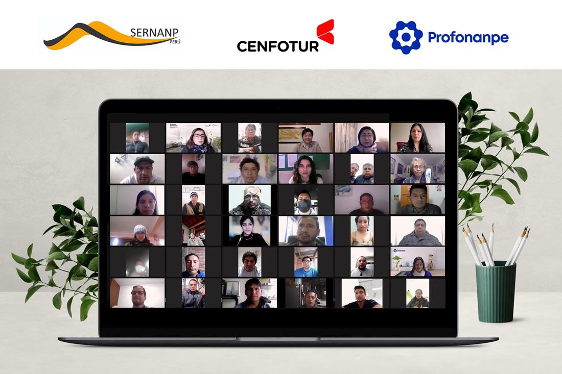 CENFOTUR Inicia capacitaciones a gestores y prestadores de servicios turísticos de las Áreas Naturales Protegidas