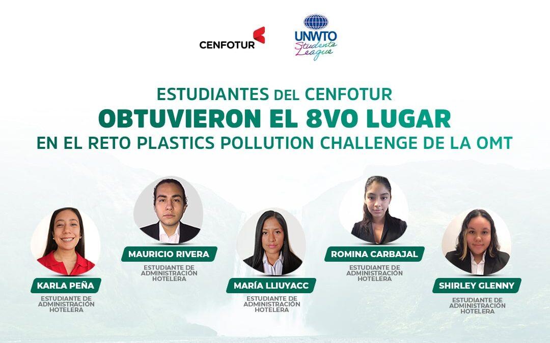 """Estudiantes del CENFOTUR obtuvieron el 8vo lugar en la competencia internacional """"2021 UNWTO STUDENTS' LEAGUE"""" de la OMT"""
